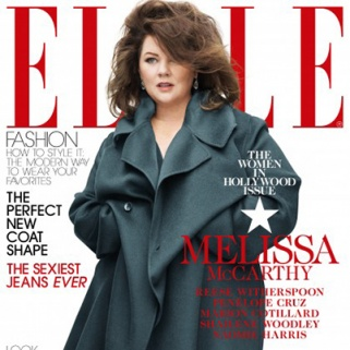 Check Out Melissa McCarthy's Glam Elle Cover
