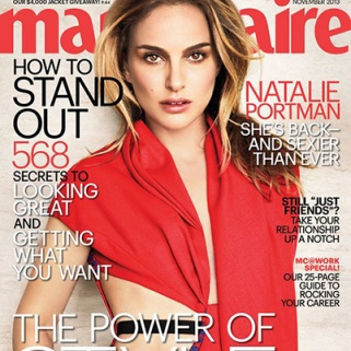 Natalie Portman Makes Moves On Marie Claire's Cover