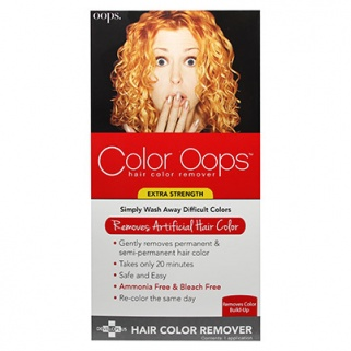 How To Remove Hair Color With Oops Hair Color Remover