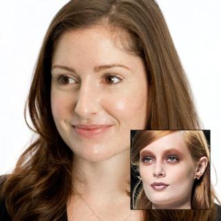 Beauty Dare: NYFW's Red Eye Makeup