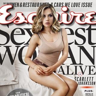 Scarlett Johansson Named Sexiest Woman Alive -- Again