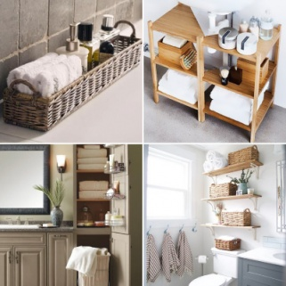 16 Genius Storage Solutions for Teeny-Tiny Bathrooms