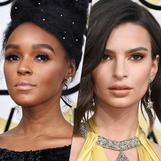11 Jaw-Dropping Makeup Looks from the 2017 Golden Globes