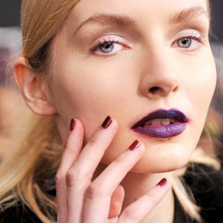 How to Pull Off Vampy Lips, Eyes and Nails