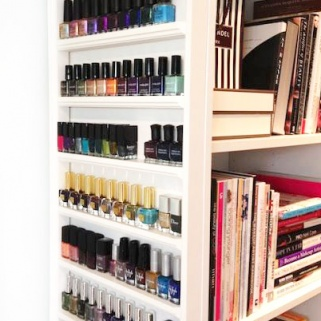 Brilliant Ways to Organize Your Nail Polish Collection
