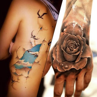 3D Tattoos You Have to See to Believe