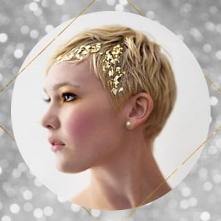 21 Glitter Hairstyles That Will Make You Feel More Magical Than a Unicorn