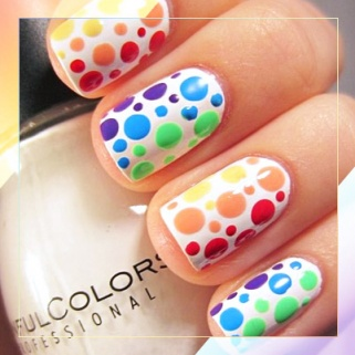 19 Rainbow Nail Designs That'll Make a Statement
