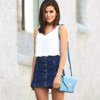 9 Chic Ways to Reinvent the Denim Skirt