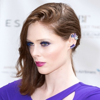 Look of the Day: Coco Rocha's Royal Blue Eyes