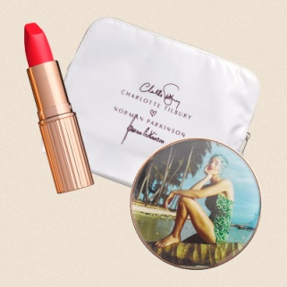 The Charlotte Tilbury x Norman Parkinson Collection is Too Pretty for Words