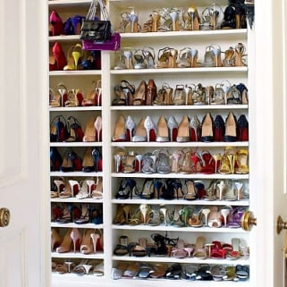 The OMG Shoe Closets You've Been Dreaming of