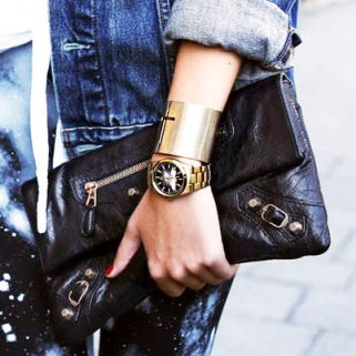 9 Fierce Ways to Rock a Gold Cuff