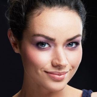 The Prettiest Lavender Eye Makeup Ever