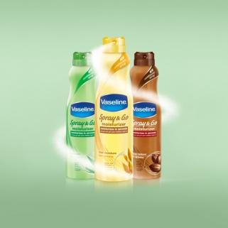 The Ultimate Morning Time Saver: New Vaseline® Spray &amp Go Moisturizer [SPONSORED]