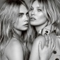 The British Are Coming: Kate Moss and Cara Delevingne Take Over Burberry