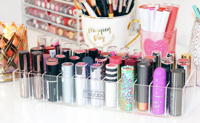 7 Lipstick Organizers to Showcase Your Full Collection