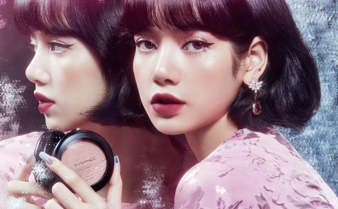BLACKPINK's Lisa Is the New Face of M.A.C.'s Holiday Collection