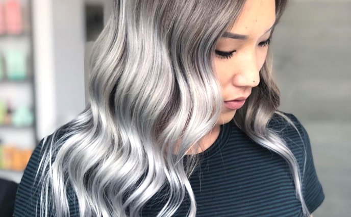 These Are The Silver Hair Looks Of Your Dreams Grey Hair Dye