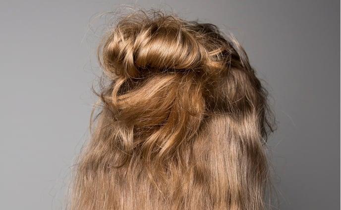 13 Half Bun Hairstyles Half Up Half Down Hair Tutorials