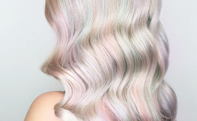 Opal Is This Season's Dreamiest Hair Color Trend