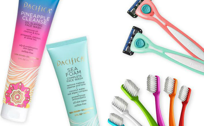 Pacifica Will Upcycle Your Product Empties Into Cute Razors