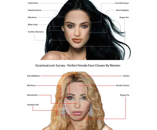 the breakdown of the perfect woman