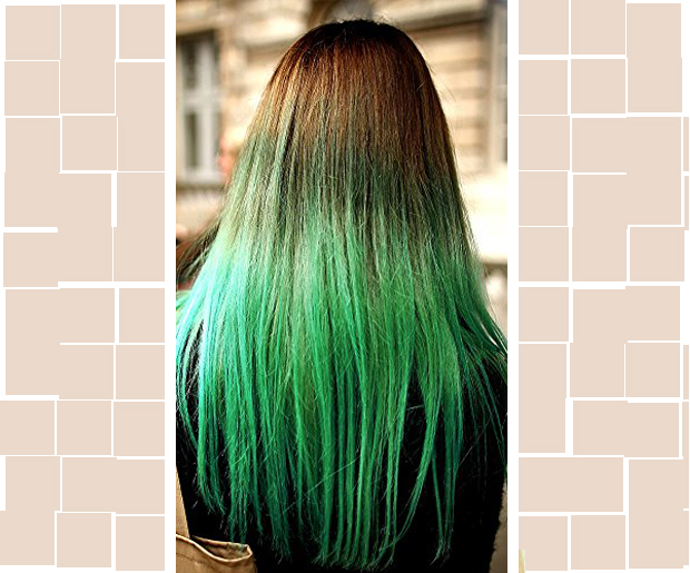 Bad Ombre Hair: Not So Green with Envy
