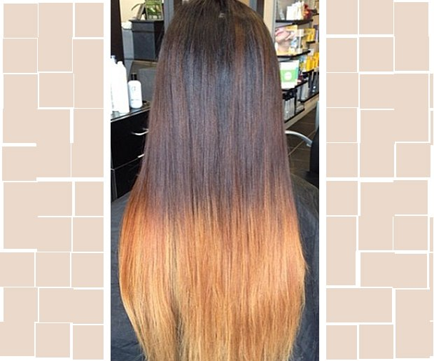 Bad Ombre Hair: Salon Not So Perfect