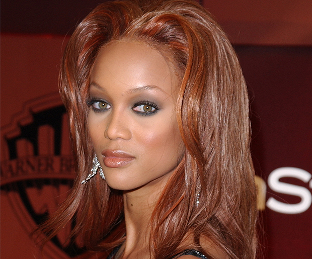 Best Hair Color For Green Eyes Tyra Banks