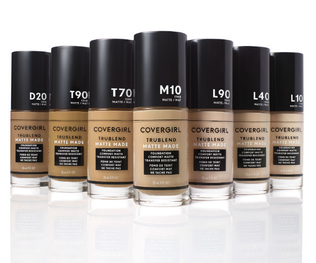 Covergirl Just Launched A Major 40 Shade Foundation Line