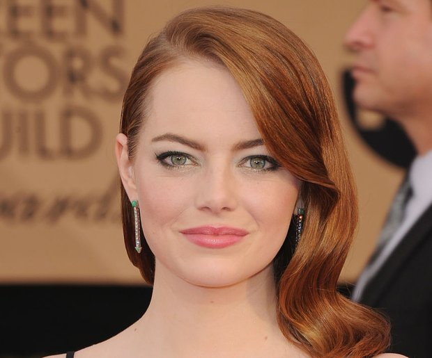 Let's Emma stone hair think