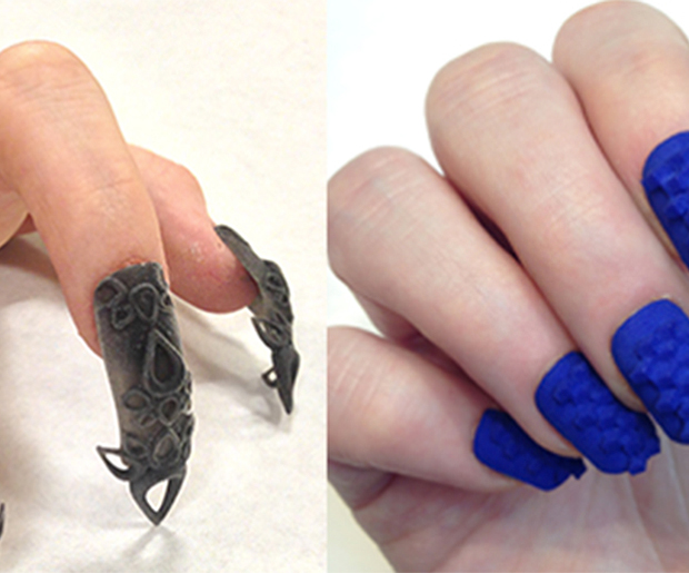 3-D Printed Nail Art? Yes, Please!