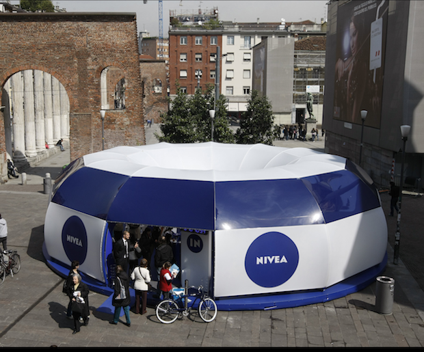 Nivea Launches New Interactive Anti Aging Boutique