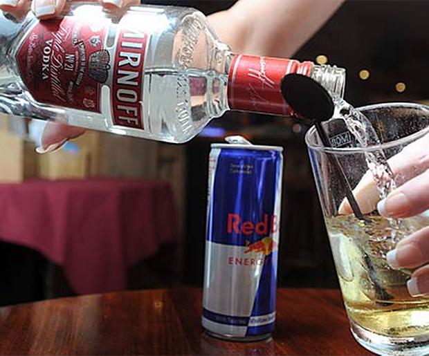 redbull vodka hjärtklappning