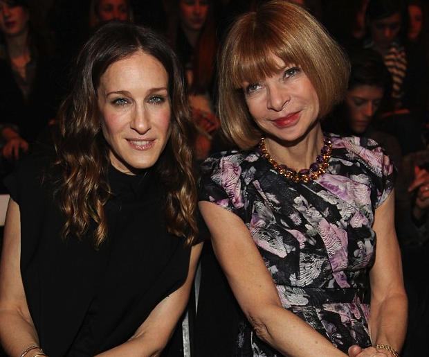 Are SJP's feet ready (willing or able) to fill Wintour's pumps?