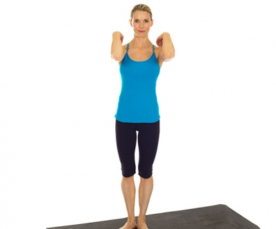 Pilates is great source of inspiration when it comes to arm workouts without weights
