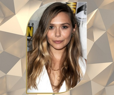 Balayage Bronde Lengths on Elizabeth Olsen