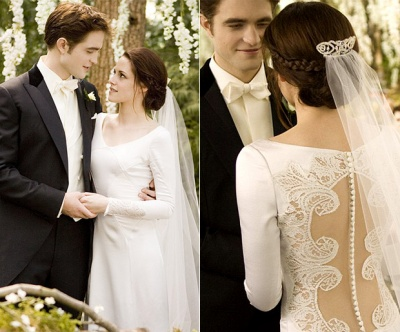 Bella Swan Wedding Dress Was Stunning In Its Simplicity