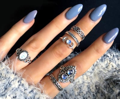 Try These 10 Gorgeous Almond Shaped Acrylic Nail Designs Must