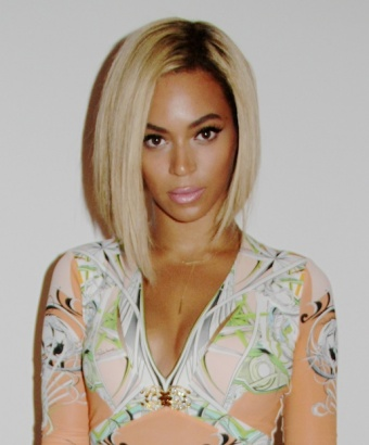 Beyonce Bob Haircut Picture