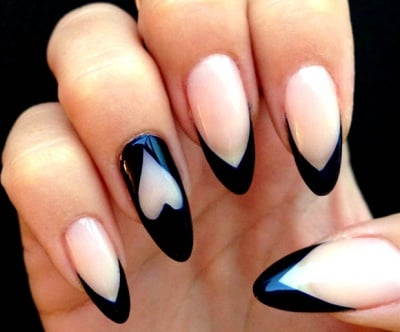 10 musttry almondshaped acrylic nail designs
