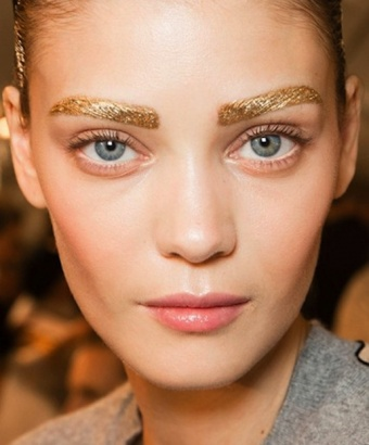gold eyebrow large