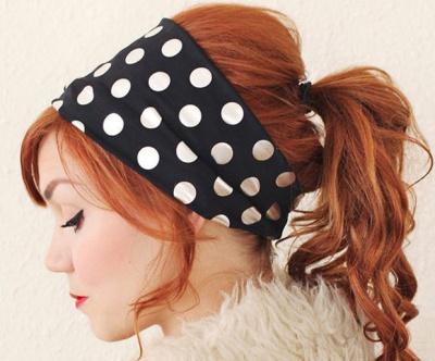 Hair Scarves: Simple Vintage