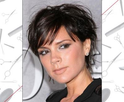 Victoria Beckham's Uneven Bangs