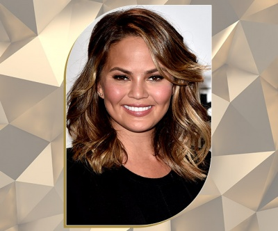 Hazelnut Bronde Lob on Chrissy Teigen