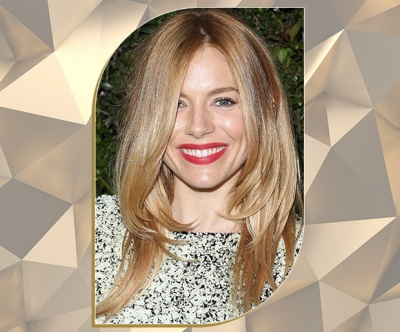 Light Bronde Layers on Sienna Miller