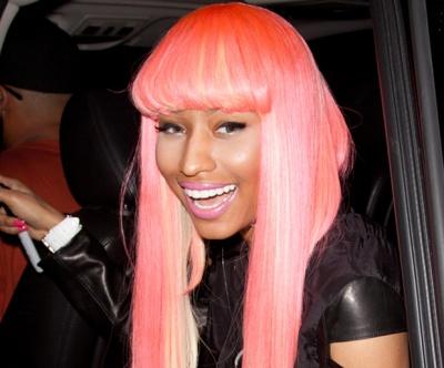 9 nicki minaj hairstyles that prove shes the ultimate badass nicki minaj hairstyles pink and angled urmus Gallery
