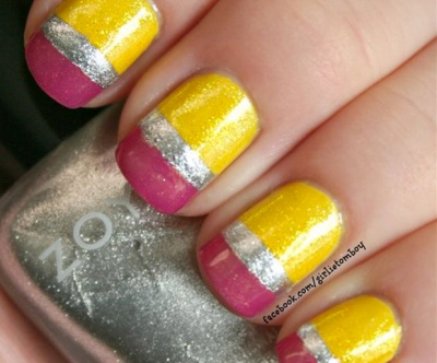 ... Back-to-School Nails: Pencil Ends - Back-to-School Nail Art Designs To Wear On Your First Day
