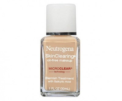Sweat Proof Makeup - Neutrogena SkinClearing Oil-Free Makeup